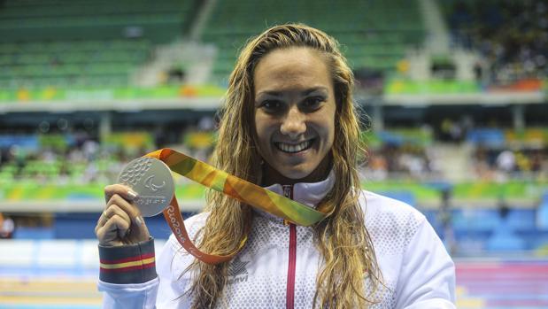 Sarai Gacón, con la medalla de plata de Río