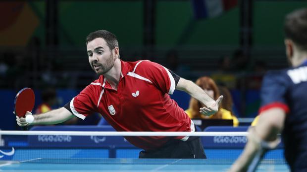 Álvaro Valera, durante uno de los partidos disputados en los Juegos Paralímpicos de Río 2016