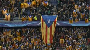 Vuelven las esteladas al Camp Nou