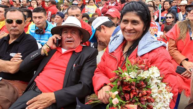 Luis y Eloisa, padres de Nairo Quintana