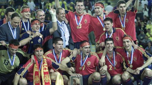 España festejó su primer título mundial en Guatemala 2000