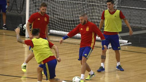 Entrenamiento de la selección en Colombia