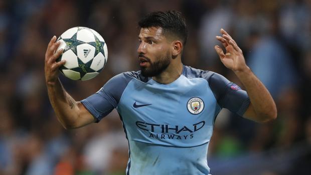 Manchester City-Monchengladbach:  Agüero prolonga la racha del City