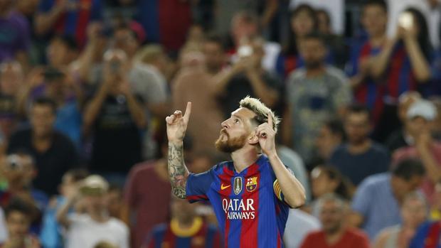 Barcelona-Celtic:  Messi brilló y el Barça giró a su alrededor