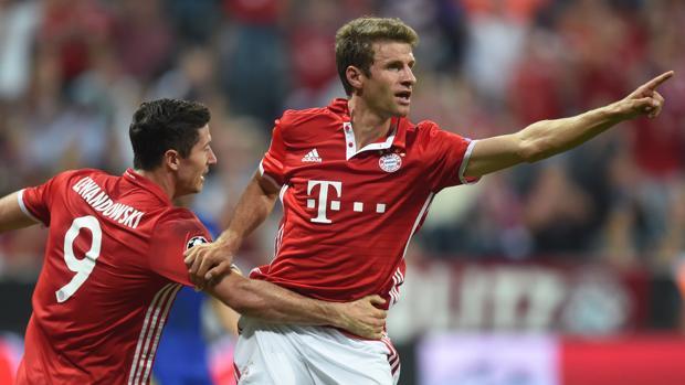 Bayern-Rostov:  El Bayern tritura al Rostow
