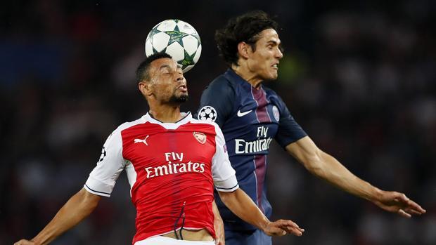 PSG-Arsenal:  Alexis Suárez da el empate al Arsenal y amarga a un buen PSG