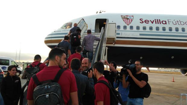 El Sevilla, rumbo a Turín para comenzar su caminar en la Champions