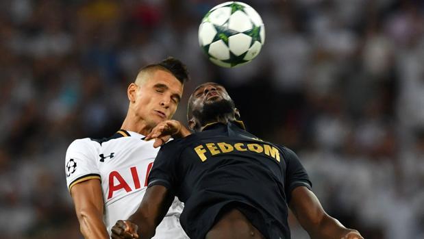 Tottenham-Mónaco:  El Mónaco sorprende en Wembley