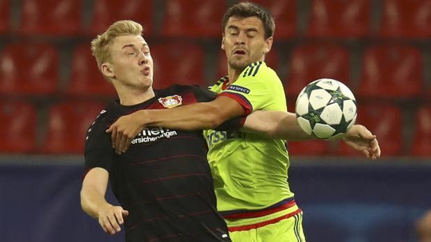 Leverkusen-CSKA Moscú:  El Leverkusen se deja remontar