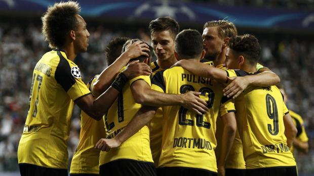 Legia-Dortmund:  Goleada de escándalo del Dortmund