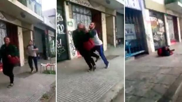 Tres jugadores de rugby, suspendidos de por vida por atacar a un indigente
