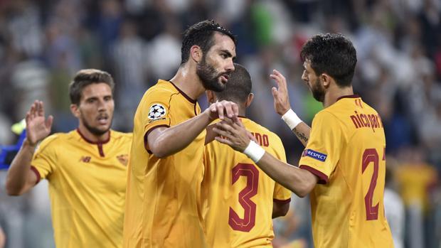 Juventus-Sevilla:  El Sevilla araña un punto de oro en Turín