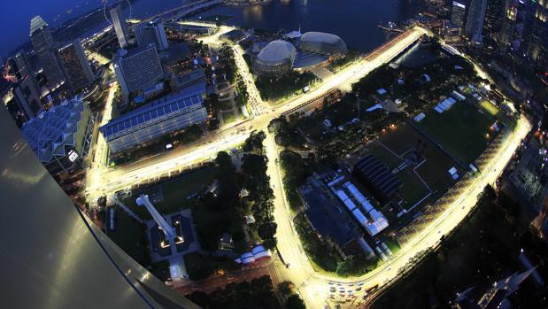 Fórmula 1:  Horarios y TV del GP de Singapur