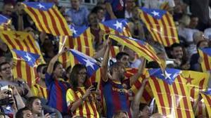 Los castigos a los que se expone el Barça por las esteladas