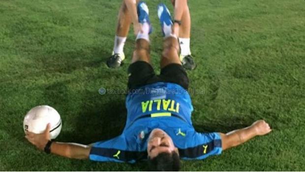 Maradona vuelve a los entrenamientos