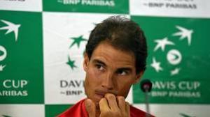Rafa Nadal es baja ante la India y le sustituye Feliciano López