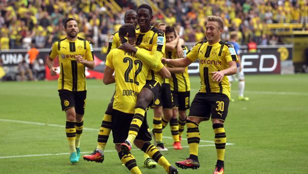 Dortmund-Darmstadt:  El Dortmund se acostumbra a golear