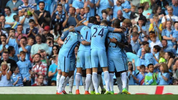Manchester City-Bournemouth:  El City de Guardiola está de dulce
