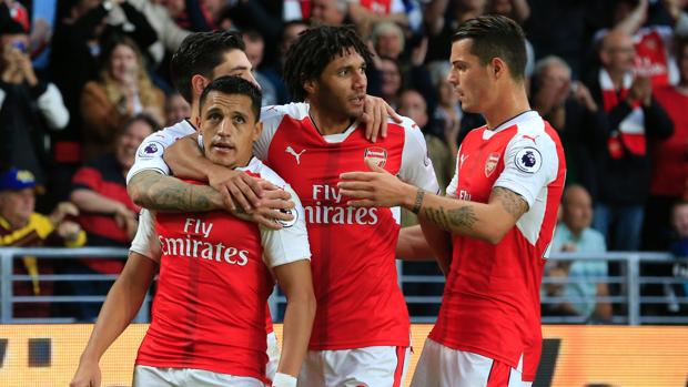 Hull City-Arsenal:  El Arsenal crece al ritmo de Alexis