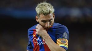 Otra vez Messi dispara al Barça