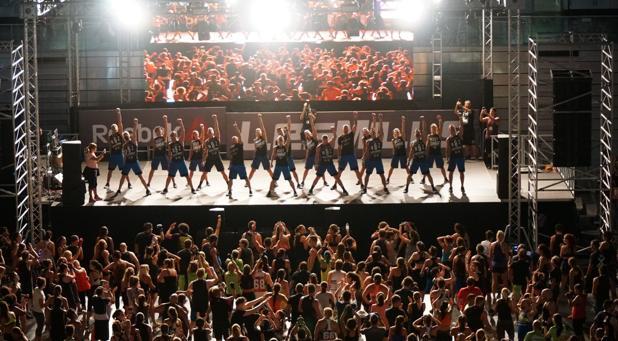 El Reebok Les Mills Live desata la locura en el Madrid Arena