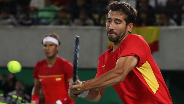 Nadal jugará el dobles junto a Marc López