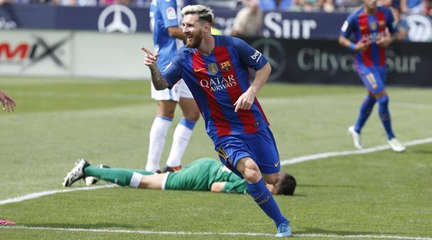 Leganés-Barcelona:  Otra vez Messi dispara al Barça
