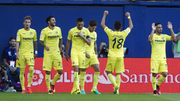 Villarreal-Real Sociedad:  El Villarreal gana con un golazo de Sansone