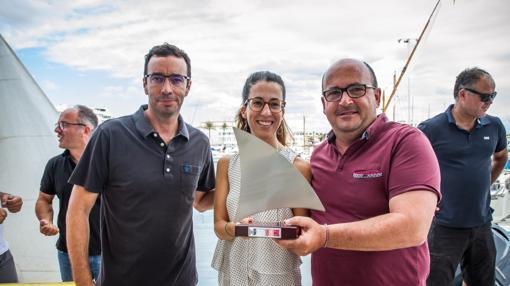 Jaime Durán recoge su premio