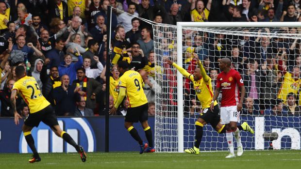 Watford-United:  Otra debacle del Manchester de Mourinho