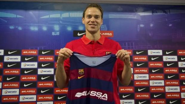 Petteri Koponen, jugador del Barcelona