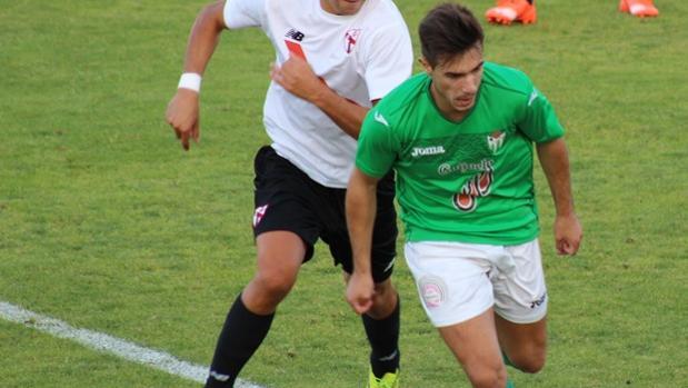 Aitor Aspas, jugador del Guijuelo salmantino