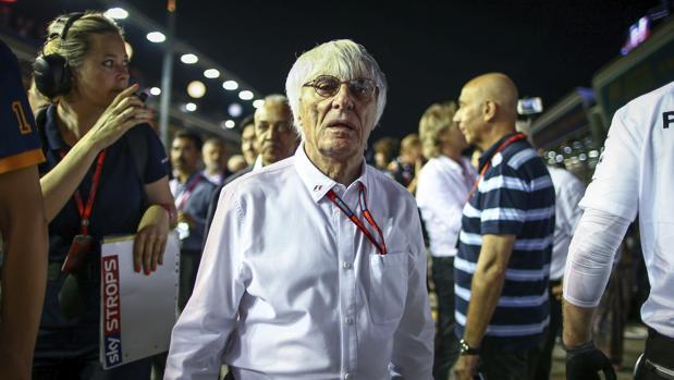 Fórmula 1:  Ecclestone insinúa su adiós