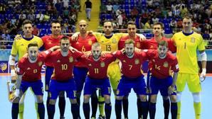España, a los octavos de final de fútbol sala