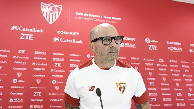 Sampaoli: «En mi criterio, este Betis es muy superior al de años anteriores»