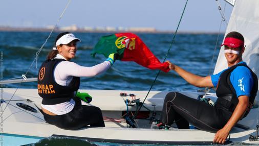 Malfada y Tomas Pires de Lima, plata en el Europeo Juvenil