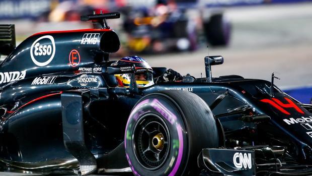 Fórmula 1:  Optimismo de Alonso: «Es posible un podio este año»