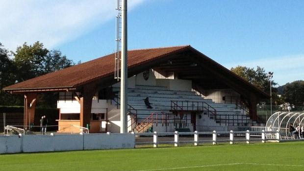 Gazituaga, el coqueto estadio del Zamudio
