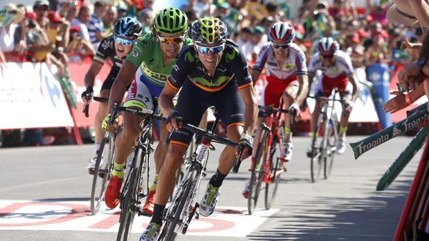 Alejandro Valverde, durante la pasada Vuelta a España
