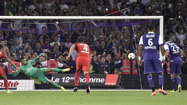 El Toulouse puede con el PSG