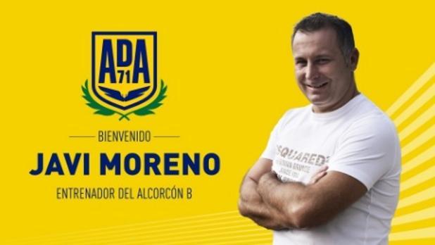 Así ha anunciado el Alcorcón el fichaje de Javi Moreno para su filial