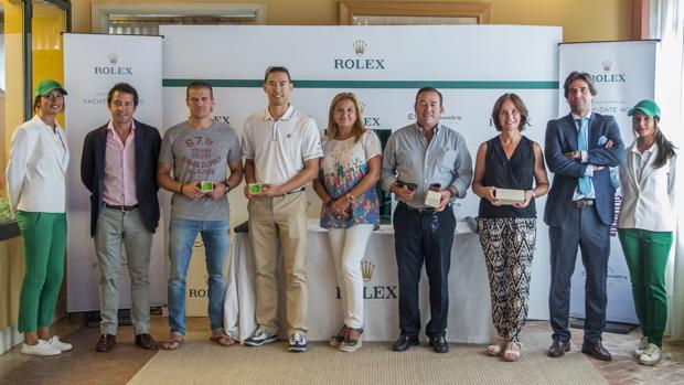 Alejandro Ruiz Gil y Darren Chang, ganadores del trofeo Rolex