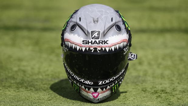 El casco que lucirá Jorge Lorenzo en el GP de Aragón