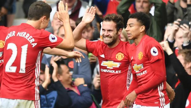 El español Juan Mata ha sido el autor de uno de los goles