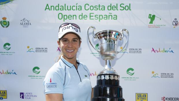 Azahara Muñoz ganó brillantemente el esquivo Open de España
