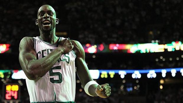 Kevin Garnett, en su etapa como jugador de los Celtics