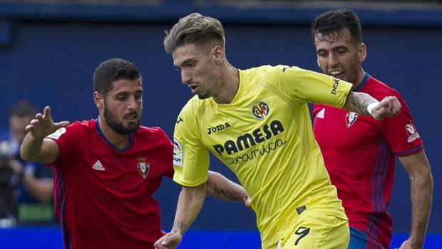 El Villarreal golea a Osasuna
