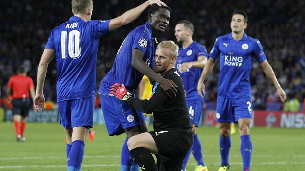 Slimani mantiene vivo el sueño del Leicester en la Liga de Campeones