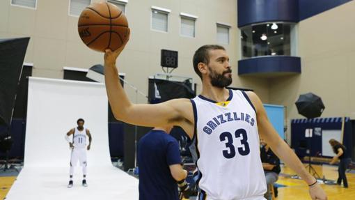 Marc Gasol seguirá una temporada más en los Memphis Grizzlies