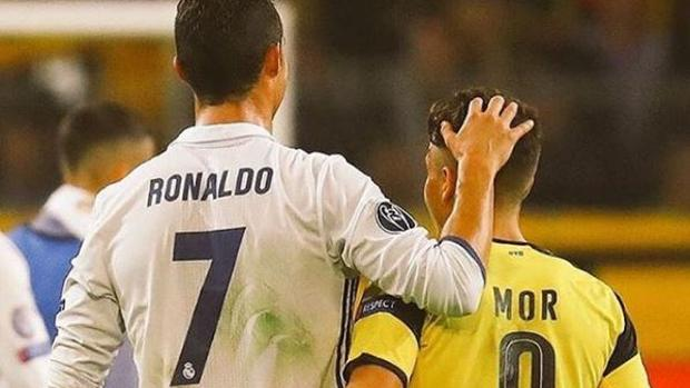 El emotivo mensaje de Emre Mor a Cristiano Ronaldo